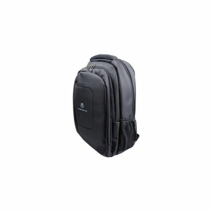 Volkano Bolt Series Backpack Black and Blue