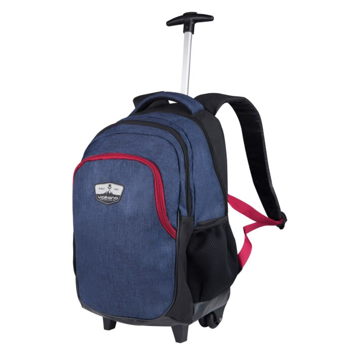 Volkano Winner 2 Trolley Backpack 22L Navy