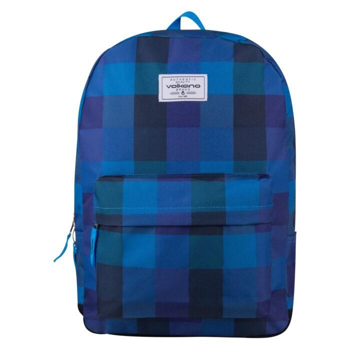Volkano Diva Checker Backpack Blue