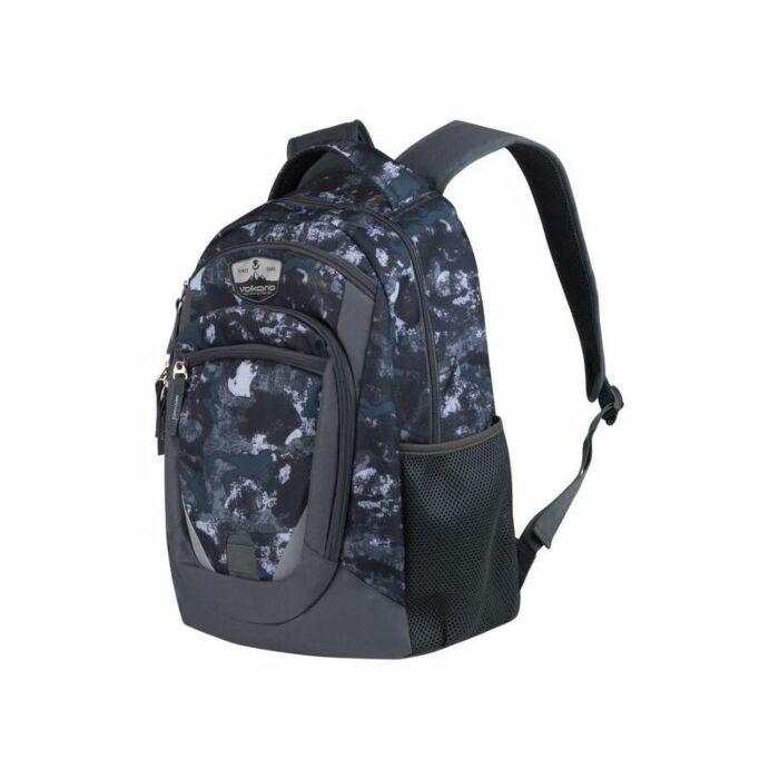 Volkano Champ Smudge Cammo Backpack 22L Grey