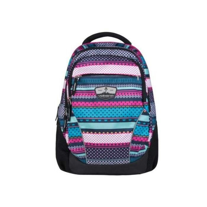 Volkano Champ Micro Aztec Backpack 22L Pink