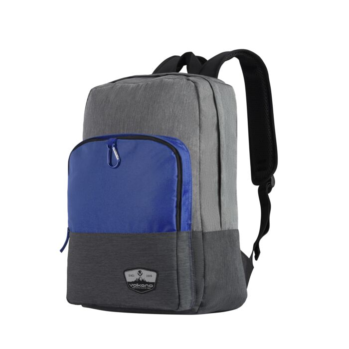 Volkano Ripper 15.6 inch Laptop Backpack Grey and Blue