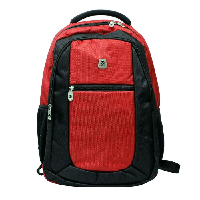Volkano Jet Backpack Black and Red