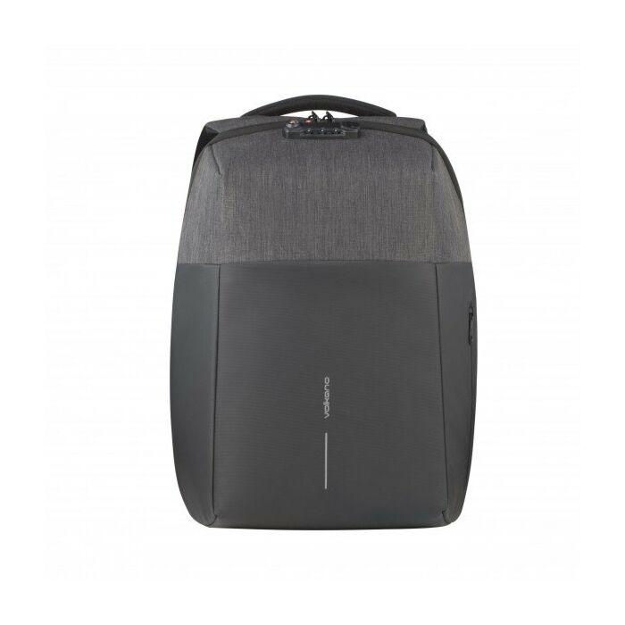 Volkano Smart Deux Laptop Backpack Black/Charcoal