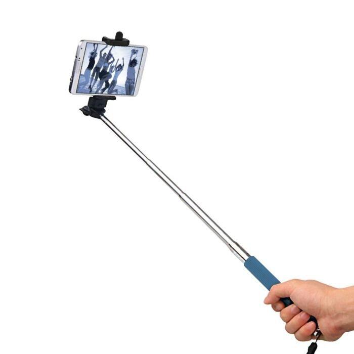 Volkano Selfie stick Blue - Lifestyle Series