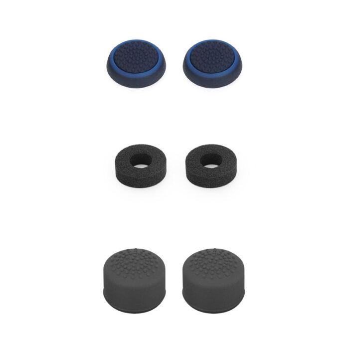 VX Gaming Duty Series Controller Thumb Grips - Black/blue (PS4)