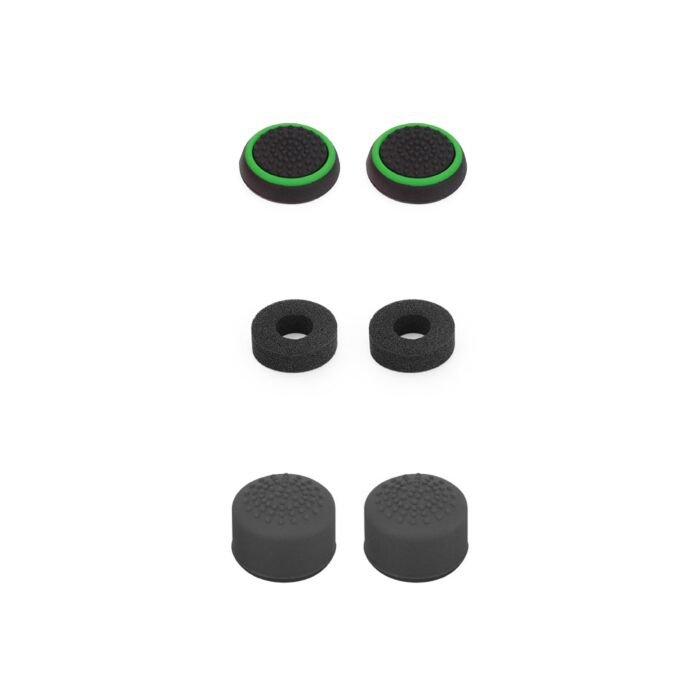 VX Gaming Ripper Series Controller Thumb Grips - Black/green (XBOX ONE/SLIM)