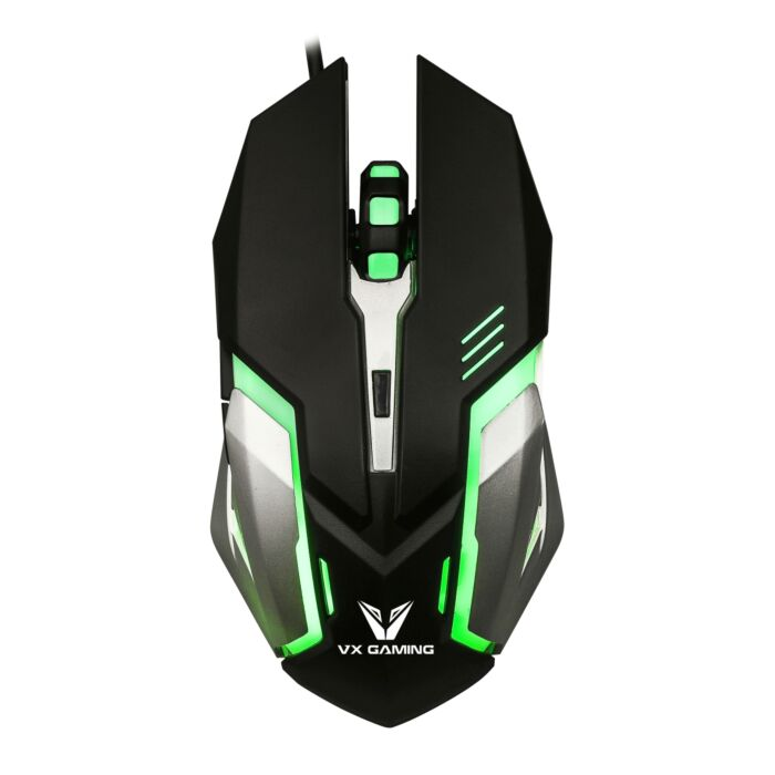 VX Gaming Ranger Series Gaming Mouse Black and Silver