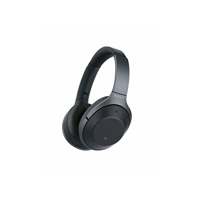 Sony 1000XMK2 Wireless Bluetooth NFC Headphones with Noise Cancelling Black
