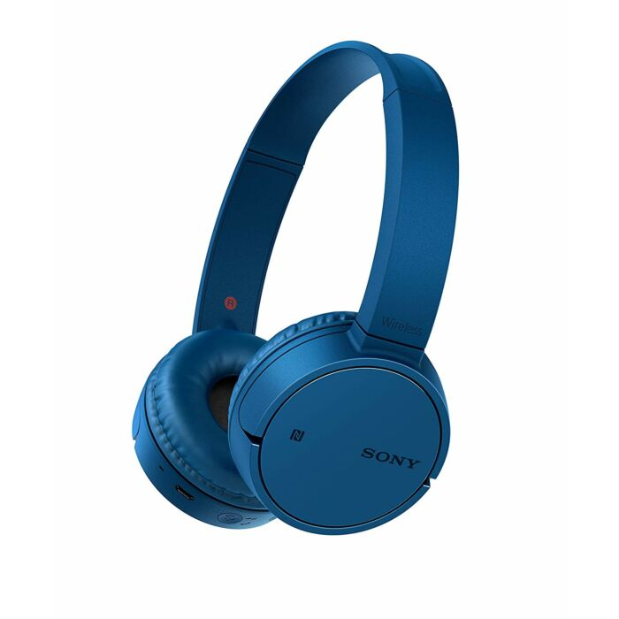 Sony CH500 Wireless Bluetooth NFC On-Ear Headphones Blue