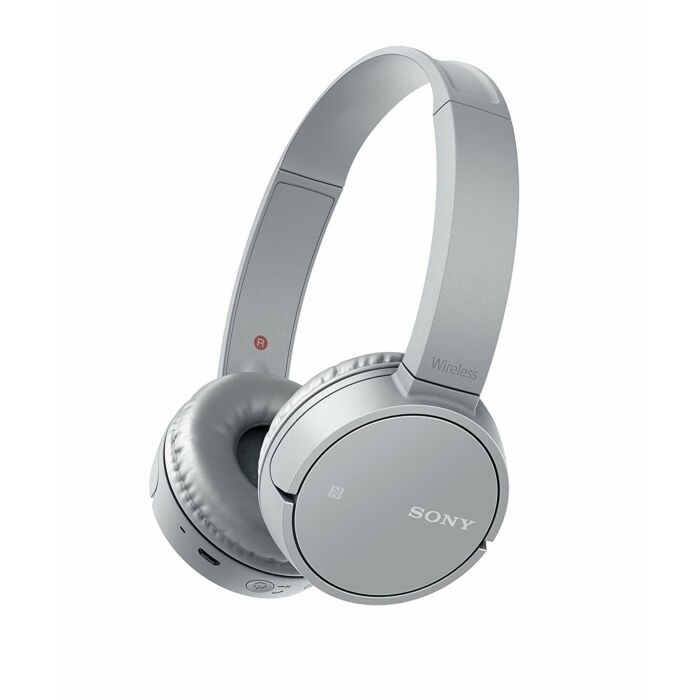 Sony CH500 Wireless Bluetooth NFC On-Ear Headphones Grey