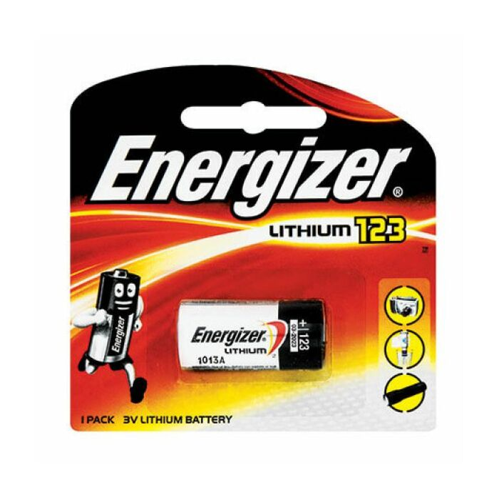 Energizer Lithium Photo 123