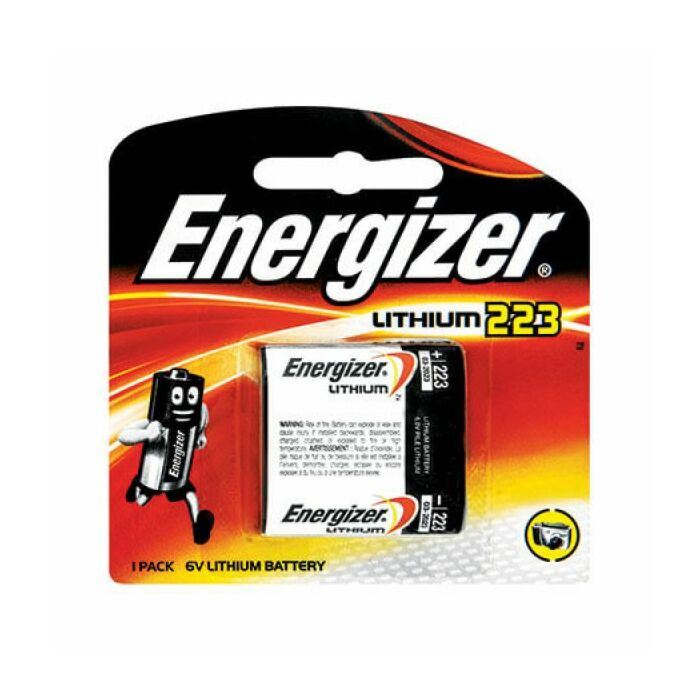 Energizer Lithium Photo 223