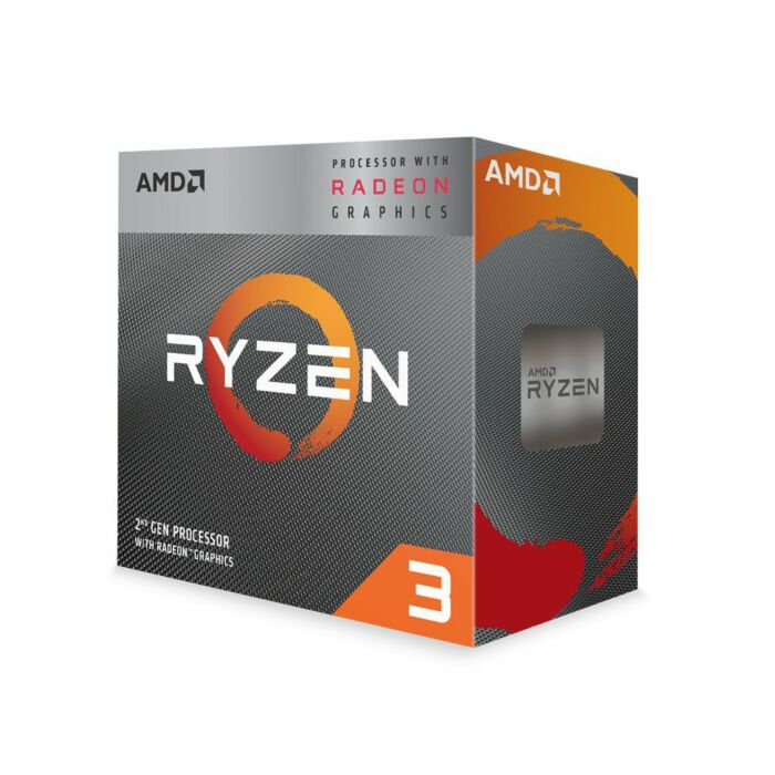 AMD RYZEN 3 3200G 4-Core 6MB AM4 APU Radeon Graphics and Wraith Stealth Fan