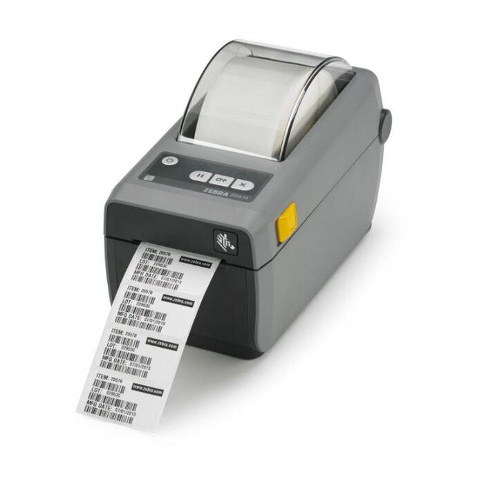 Zebra - ZD410 USB 2 inch Host Direct thermal Printer