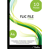 Treeline Flic File 10 Pocket File