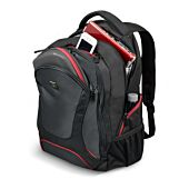 Port Designs COURCHEVEL 17.3' Backpack Case - Black and Red