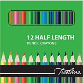 Treeline 12 Half Length Pencil Colours (Pack of 12)