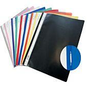 Treeline A4 Quotation Folder Black Pkt-10