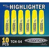 Collosso Highlighter Yellow Box-10