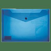 Treeline A3 PVC Carry Folder With Stud Pkt-06 Blue