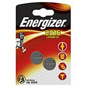 Energizer Lithium Coin 2016 Pack of 2