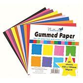 BUTTERFLY GUMMED PAPER 20SHEETS 150x150mm 90gsm