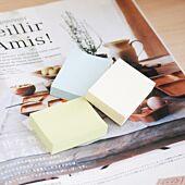 Stickn 38x50 Pastel Notes Yellow 100 Sheets Per Pad Box-12