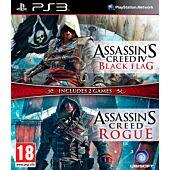 Assassin's Creed IV Black Flag + Assassin's Creed Rogue (PS3)