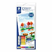 Staedtler Water Colour Paint 12 x 12ml tubes Box-6