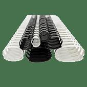 Treeline 8mm Binding Element Black Box-100 45 Sheets