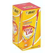 Bic Crystal Xtra Life Red Box-60