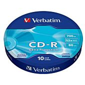 Verbatim CD-R 700MB (52x) Extra Protection Wagon 10-Pkt