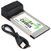 PCMCIA 4 Port USB Card