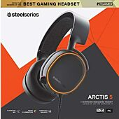 Steelseries Gaming Headset Arctis 5 Black (PC PS4 Xbox One)