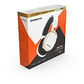 SteelSeries Gaming Headset - Arctis 5 - 2019 Edition - White (PC/PS4/XBOXONE)