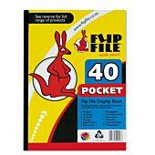 Flip File A4 40 Pocket