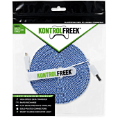 Kontrolfreek Gamng Cable 12FT Micro USB Blue/Silver