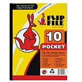 Flip File A4 10 Pocket