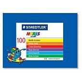 STAEDTLER CHALK 100's WHITE