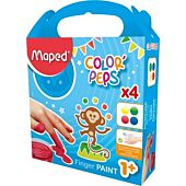 MAPED Color'Peps Paint Fingers 80g x 4 (Box-3)