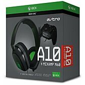 ASTRO Gaming A10 Gaming Headset + MixAmp M60 Green/Grey (Xbox One)