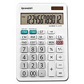Sharp EL334WB 12D Mini Desktop Calculator