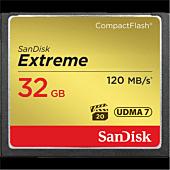 Sandisk Extreme CF 120MB/s/ 85MB/s write/ UDMA7/ 32GB