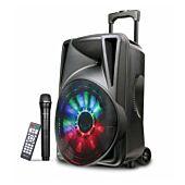 Astrum TM120 Trolley Multimedia Speaker Wireless 30W + Tweeters Black