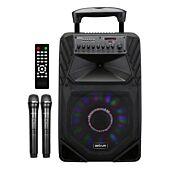 Astrum TM155 80W Smart Trolley Multimedia Speaker + App / Tweeters / BT / USB / TF / FM Black