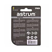 Astrum AAB014 Alkaline C LR14 Battery 2PC Pack