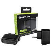 Amplify Agile Series Single USB 1A Wall Charger