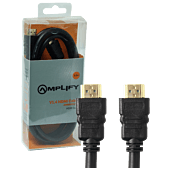 Amplify HDMI Cable - V1.4 Gold - 1.5m