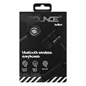Bounce Salsa Series Bluetooth Aluminium Body Earphone - Black